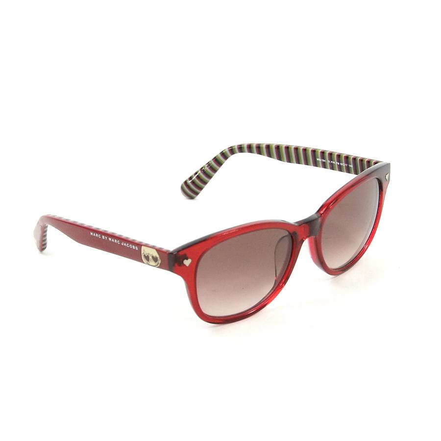 ad2e03297e37 BrandValue: Mark by mark Jacobs sunglasses logo red x green x black plastic  MARC BY MARC JACOBS Lady's - i0101 | Rakuten Global Market