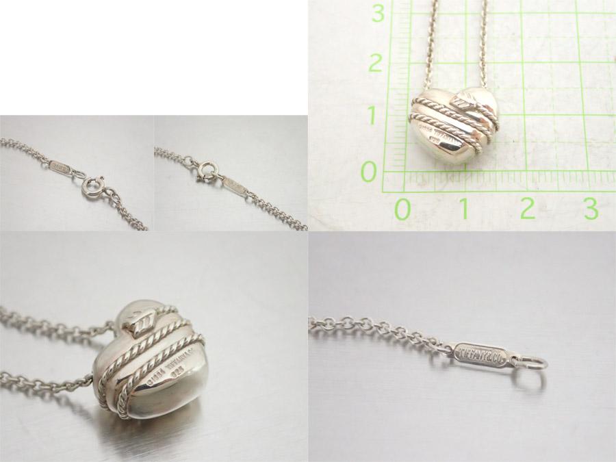 99dd251e1 [basic popularity] [used] Tiffany [Tiffany & Co.] heart & arrow necklace  chain necklace pendant Lady's silver SV925