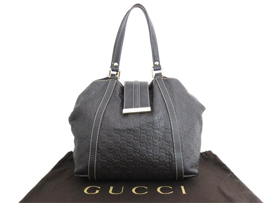 48422d6c6d BrandValue: Gucci Gucci bag Gucci sima dark brown x gold metal fittings leather  shoulder bag tote bag Lady's 233607 - e34148 | Rakuten Global Market