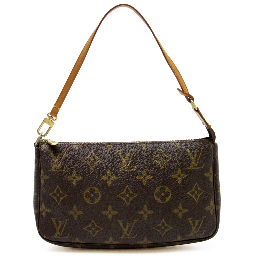 Louis Vuitton Mini Shoulder Bag Handbag Accessory Monogram Pochette アクセソワールモノグラムキャンバスレディース M51980 H15964
