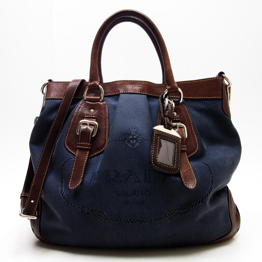 germany brandvalue rakuten global market take prada prada slant shoulder bag  2way bag brown x navy b91e6219ae591