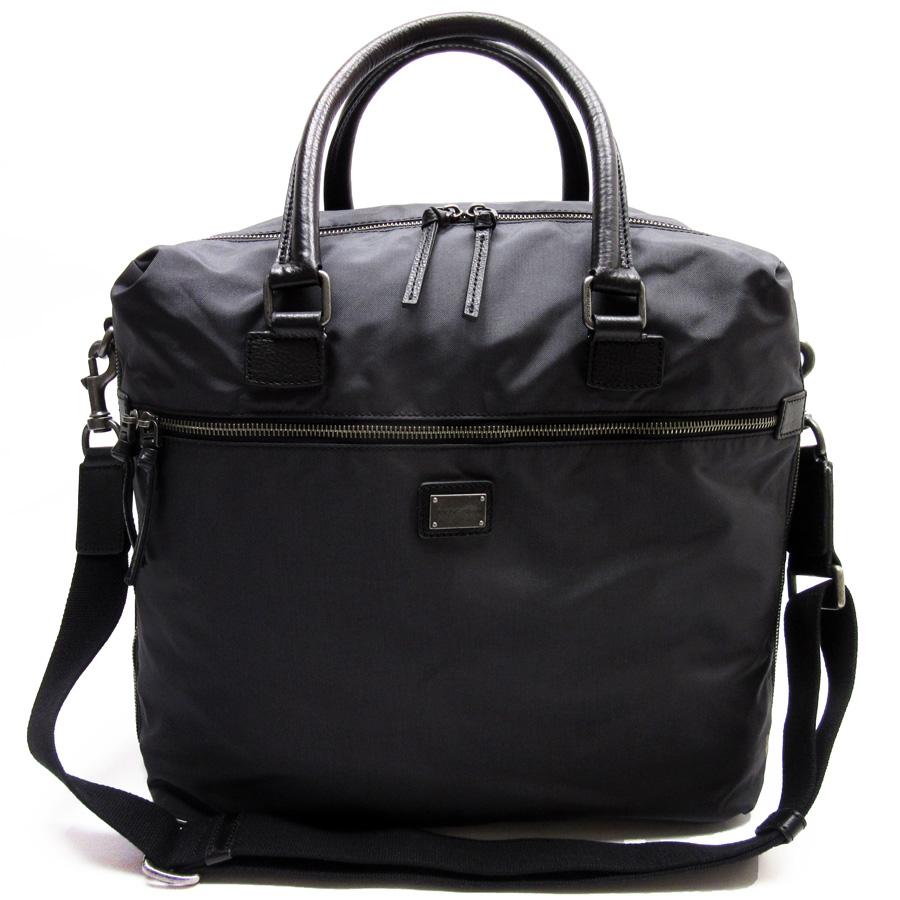 Shoulder bag Handbag Nylon leather handle black Dolce & Gabbana XViANF