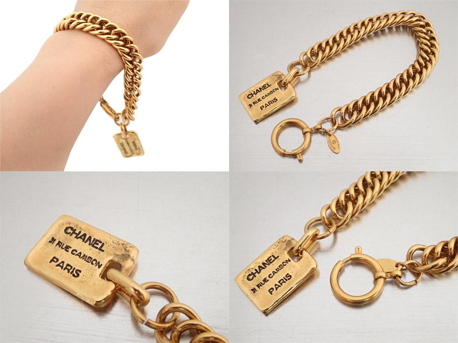 シャネル CHANEL ブレスレット ロゴ ゴールド 金属素材 チェーンブレスレット ゴールドブレスレット レディース定番人気e35383yfvIY76gmb