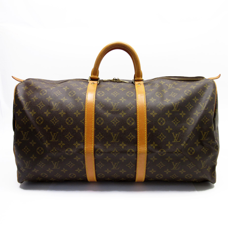 8feb46f1dbf9  basic popularity   used  a Louis Vuitton  Louis Vuitton  monogram key Poll  55 handbag Boston bag travel bag lady men monogram canvas