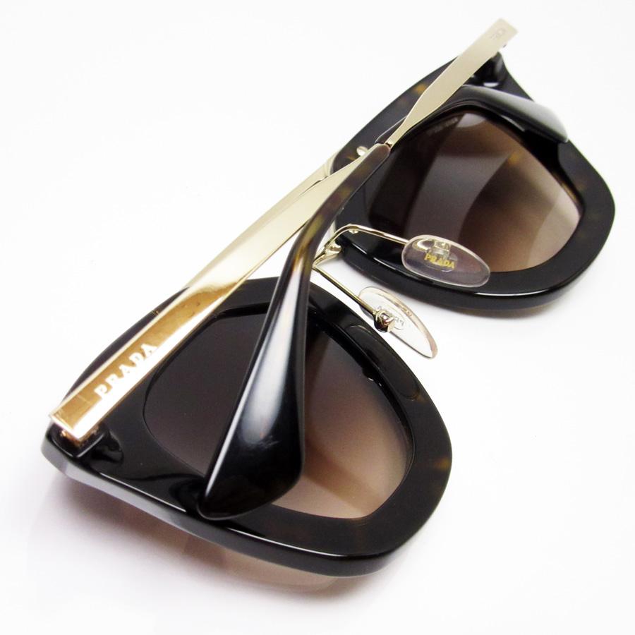 70b629e2cbb x gold x brown gradation SSx plastic - h19280 of Prada PRADA sunglasses 49  □ 26 140 Brown line