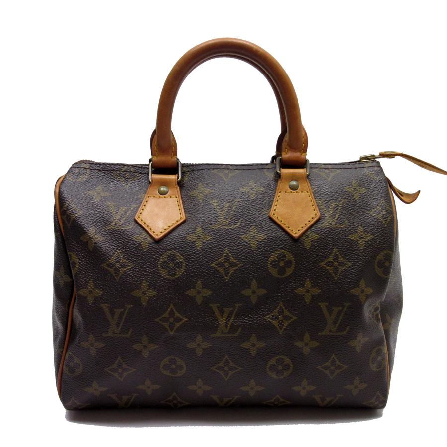 d76a4c17f46c  basic popularity   used  Louis Vuitton  Louis Vuitton  monogram speedy 25  handbag mini-Boston bag Lady s monogram canvas