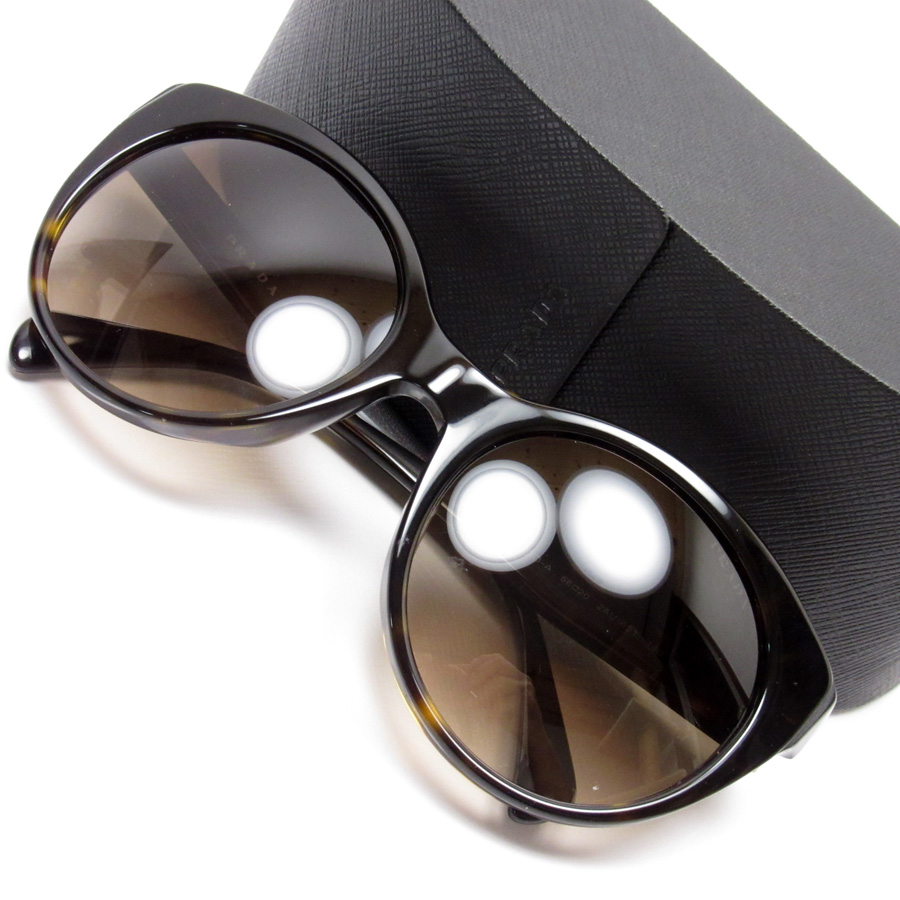 54206e3c5b Prada PRADA sunglasses (56 □ 20 140) frame  Tortoiseshell x gold lens   Brown plastic Lady s reduction in price product - h19889