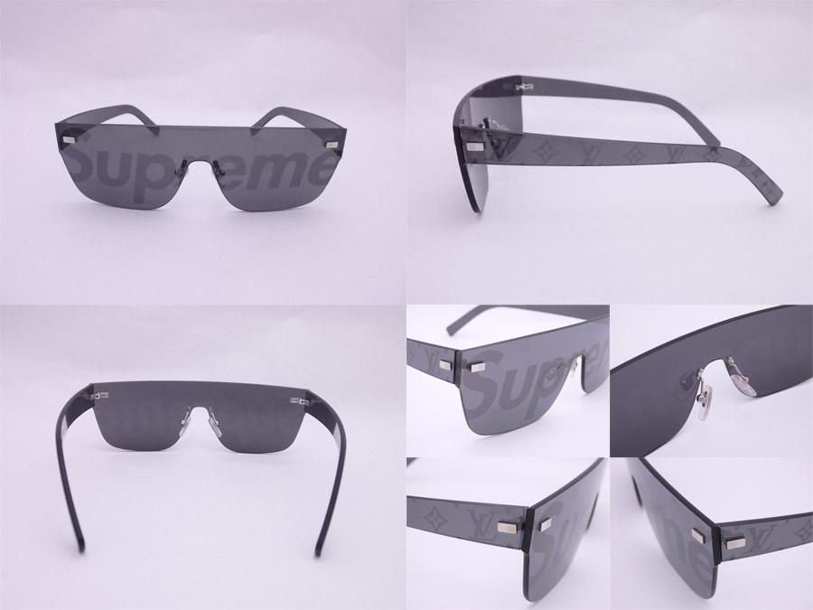 f2b229d04f1c Louis Vuitton Louis Vuitton sunglasses Louis Vuitton x シュプリーム City Mask SP  black x silver metal fittings plastic fashion sunglasses logo sunglasses ...
