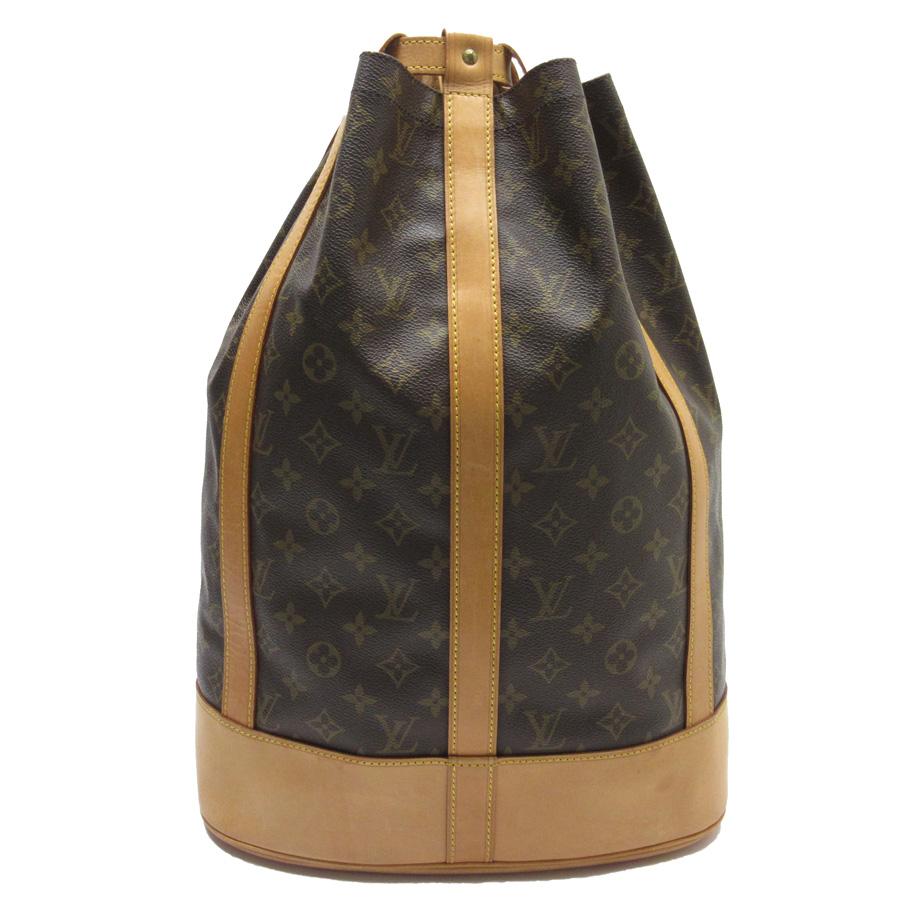 ルイヴィトン Louis Vuitton ショルダーバッグ 巾着バッグ モノグラム ランドネGM モノグラムキャンバス レディース メンズ M42244 【中古】【定番人気】 - h21151
