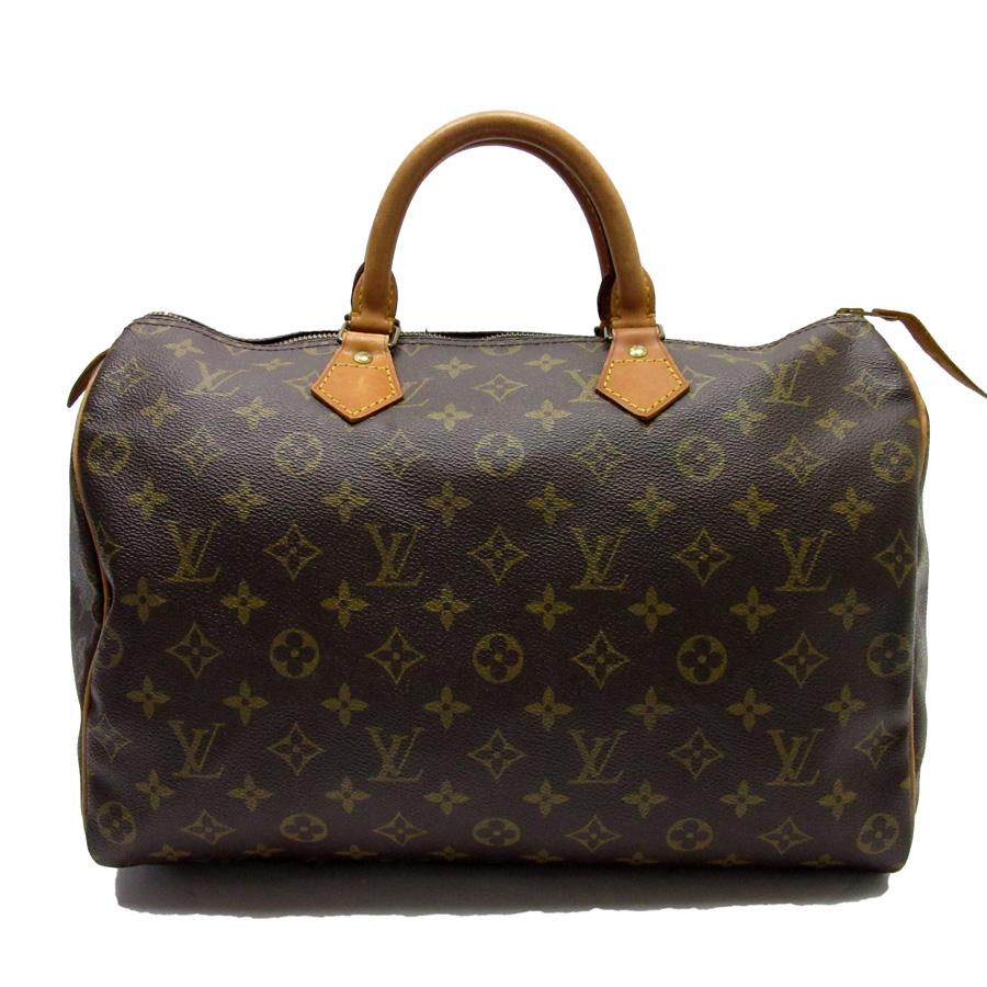 ルイヴィトン Louis Vuitton ハンドバッグ ミニボストンバッグ モノグラム スピーディ35 モノグラムキャンバス レディース M41524 【中古】【定番人気】 - h21154