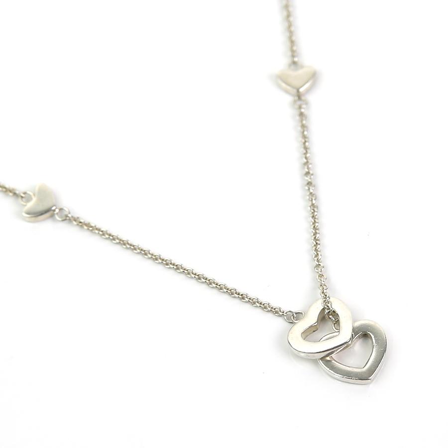 5c2dbac08 [basic popularity] [used] Tiffany [Tiffany&Co.] heart necklace Lady's silver  925