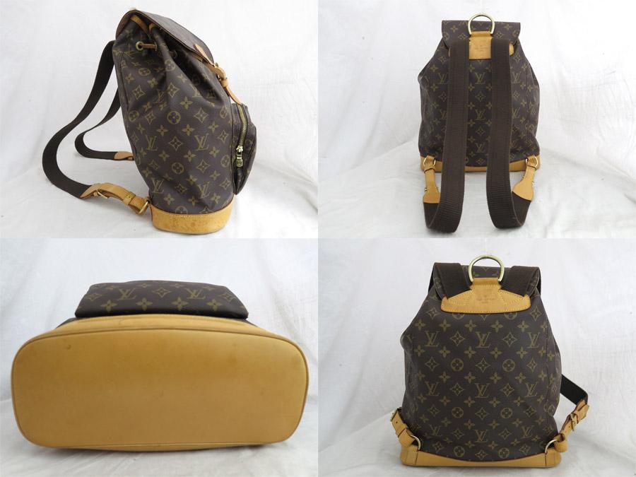 47303be843e9  basic popularity   used  Louis Vuitton  LOUIS VUITTON  monogram mon  pickpocket GM rucksack backpack brown monogram canvas