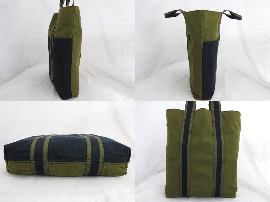 f6bca31ed1d2 エルメスのトートバッグです。シンプルさと軽量さが特徴で男女問わずお使いいただけるデザインです。縦長なので大きめの本や書類 などもラクラク収納できちゃいます。