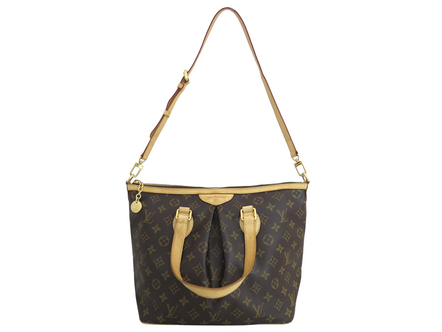 basic popularity   used  Louis Vuitton  Louis Vuitton  monogram Palermo PM  2Way bag handbag shoulder bag Lady s brown x gold metal fittings monogram  canvas 3d3485b0b4c56