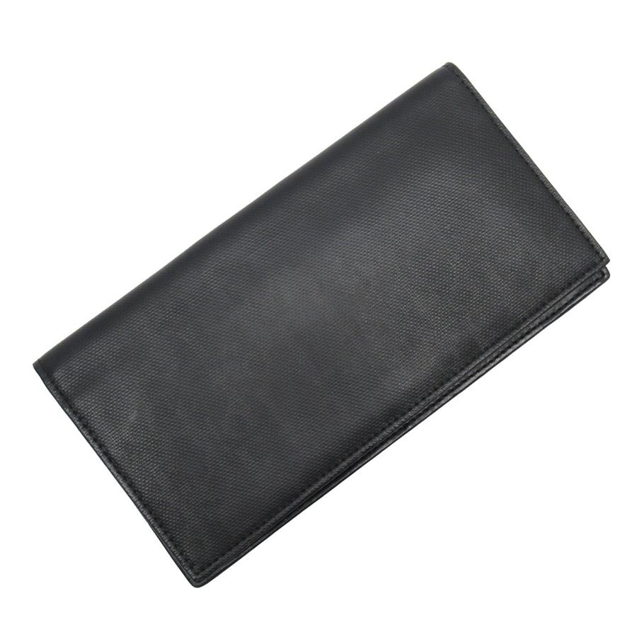ディオールオム Dior HOMME 札入れ ブラック レザー メンズ 【中古】【定番人気】 - h22905