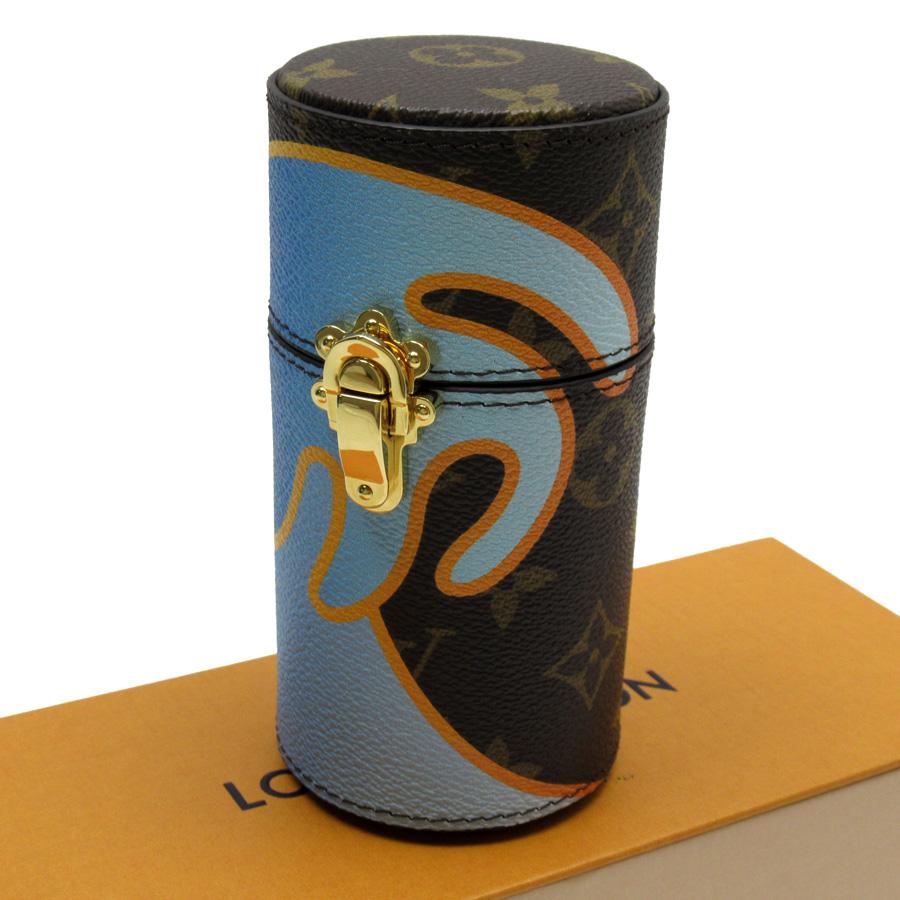 ルイヴィトン Louis Vuitton トラベルケース フレグランスケース モノグラム トラベルケース モノグラムキャンバス LS0329 【中古】【おすすめ】 - x3206c