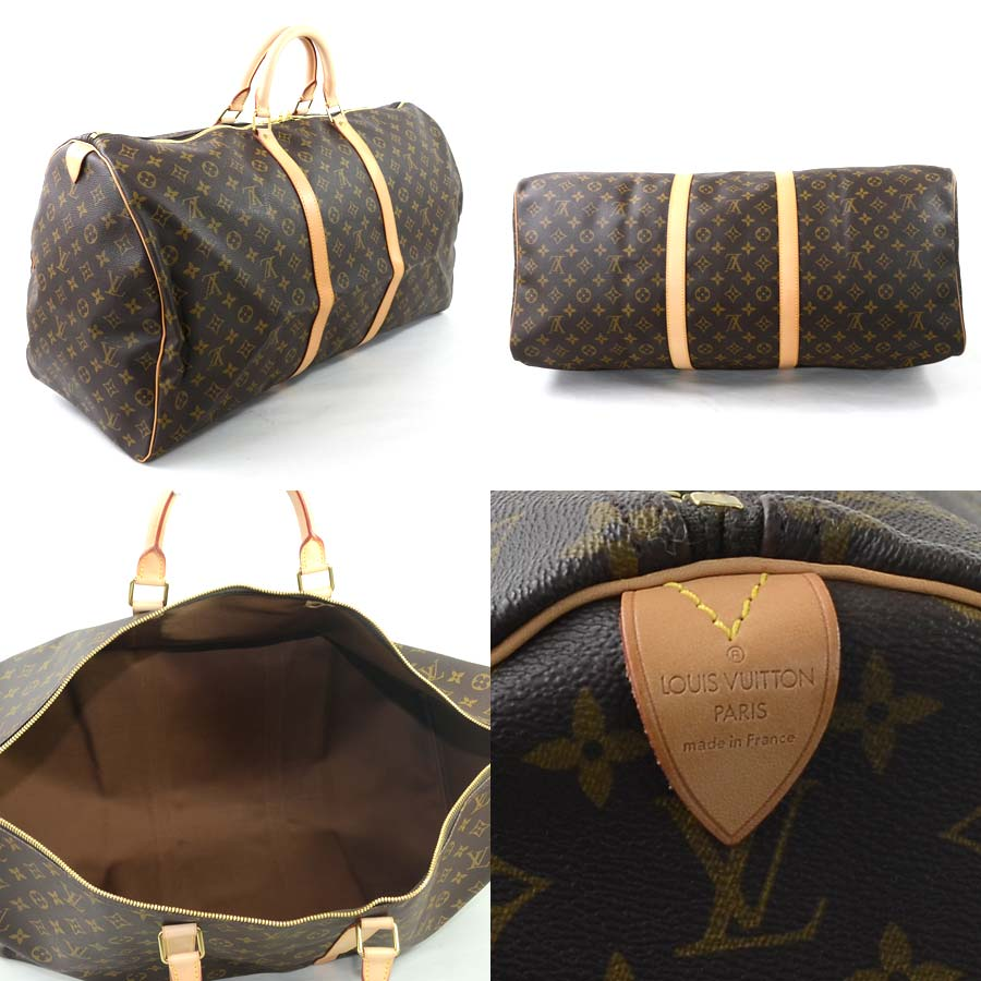 d274853936550  there is reason  It is a Louis Vuitton  Louis Vuitton  monogram key Poll  60 Boston bag travel bag lady men monogram canvas  used