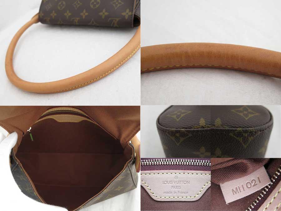 bbc4a9173538  basic popularity   used  Louis Vuitton  Louis Vuitton  monogram mini-looping  bag shoulder bag one shoulder Lady s brown monogram canvas