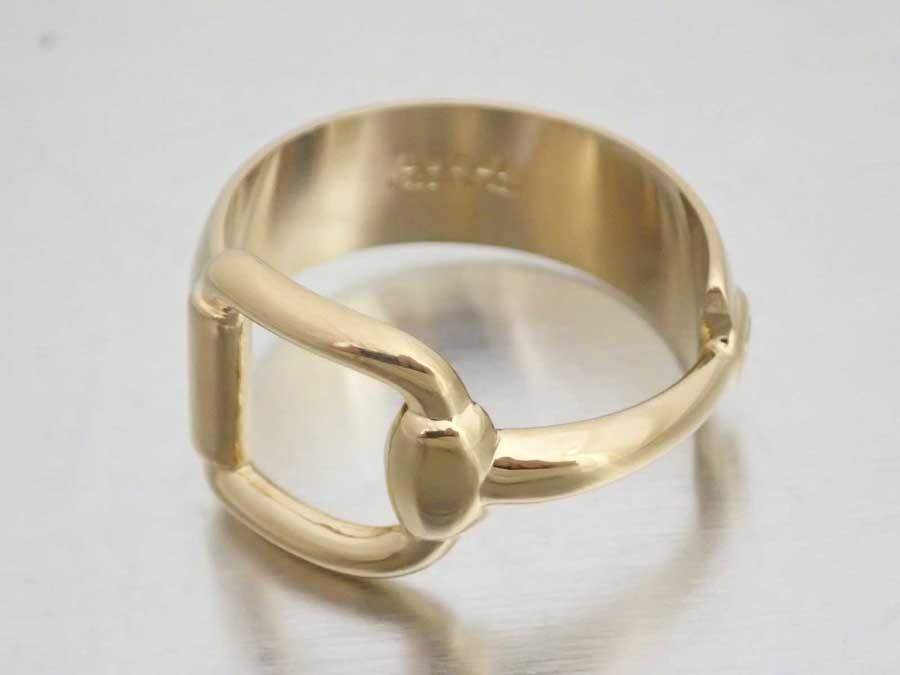 グッチ ホースビットモチーフ スカーフリング スカーフピン チャーム 金属素材 ゴールド 販売期間 限定のお得なタイムセール - レディース 店内全品対象 中古 Gucci e47436e メンズ おすすめ