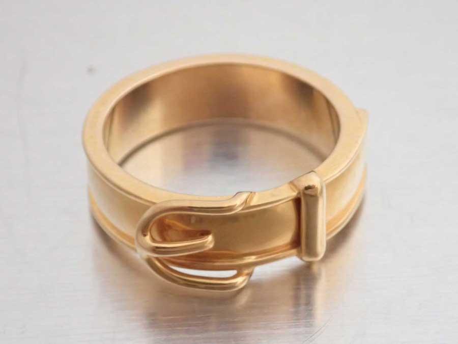 エルメス ベルトモチーフ スカーフリング スカーフピン チャーム 金属素材 ゴールド 限定品 - 中古 レディース メンズ おすすめ e47924a HERMES 交換無料