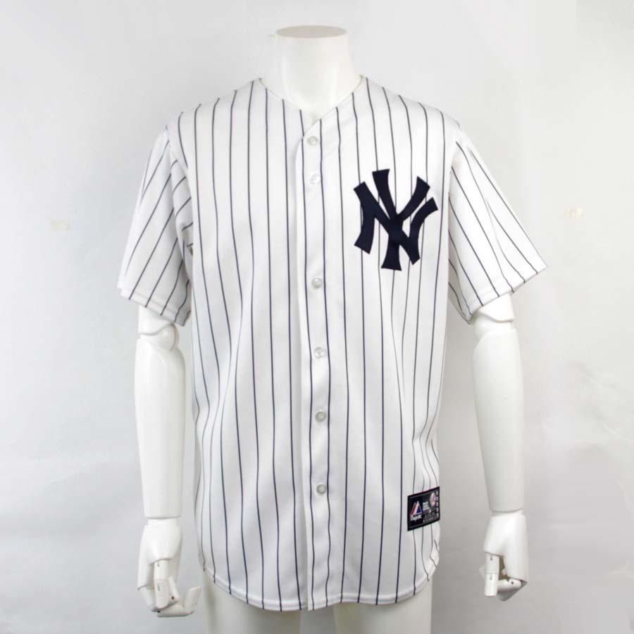 buy online 32c22 daae7 Majestic Majestic apparel Ichiro Yankees uniform replica white x navy  polyester 100% jacket Lady's men - v41662