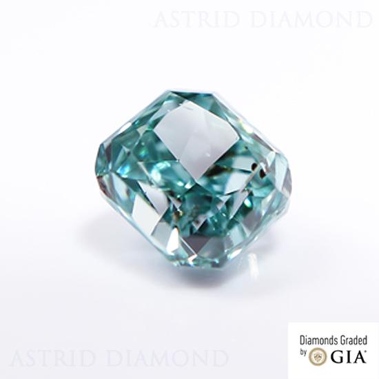 天然 ファンシーディープブルーグリーンダイヤモンド ルース 0.116ct Fancy Deep Blue Green SI1(CGL) GIA鑑定書+CGLソーティング ※現在アストリッドダイヤモンドは、及びYahooのみに出店致しております。URLがrakutenまたはyahooかどうかご確認下さい。