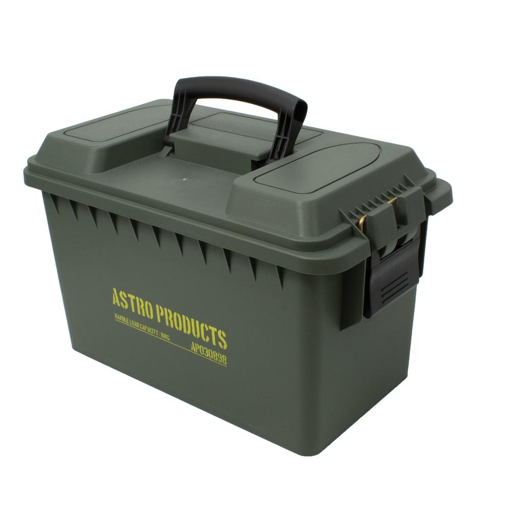 軽くて丈夫な弾薬ケース型の収納ボックス AP プラスチックボックス L OD BX898 ミリタリーボックス ミリタリー箱 割引も実施中 収納 世界の人気ブランド 箱 弾薬ケース ミリタリー インテリア アストロプロダクツ おしゃれ 弾薬箱 蓋付き