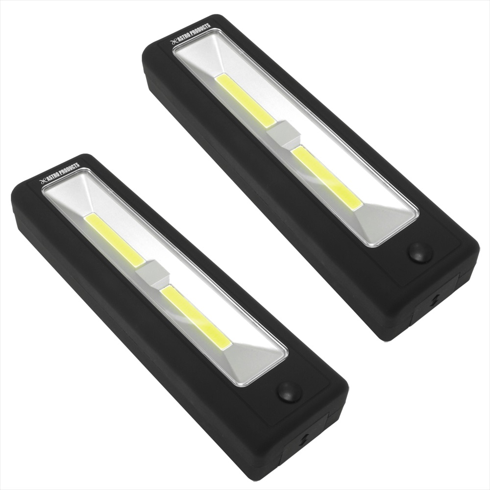 セール限定セット COB LED ワークライト ブラック 2個セットCOB 全商品オープニング価格 アストロプロダクツ 本日の目玉 DIY 工具 2個セット