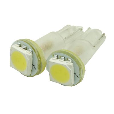 クールな光 ウェッジバルブ AP 2PC 3chip1SMD T5 LEDセラミックウェッジバルブ 工具 宅配便送料無料 DIY 安い 激安 プチプラ 高品質 ウエッジバルブ プロダクツ カスタムパーツ アストロ アストロプロダクツ カスタム ledライト パーツ