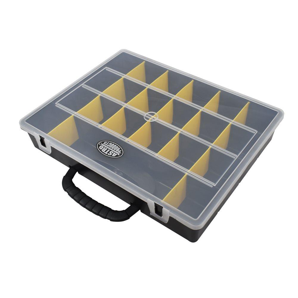 細かいパーツの仕分けに 送料無料 激安 お買い得 キ゛フト プラスチックケース AP プラスチックパーツケース 14 部品箱 PP 小物入れ セール特別価格 部品BOX アストロプロダクツ プラスチック 部品ケース
