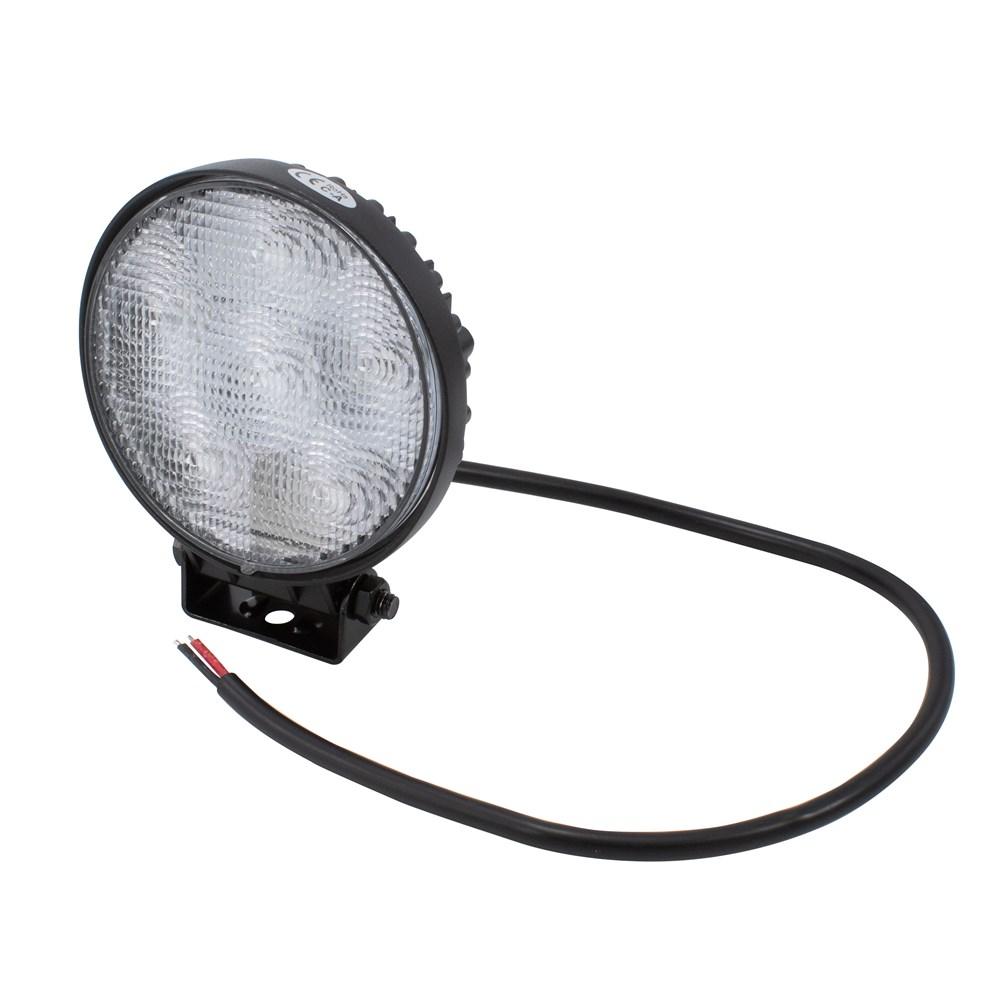 拡散ビームの丸型LED 丸型ワークライト AP 18W LEDフラットビーム WL984 販売実績No.1 永遠の定番 フォグライト LEDフォグ アストロプロダクツ FOGランプ 追加灯 SMD 作業灯