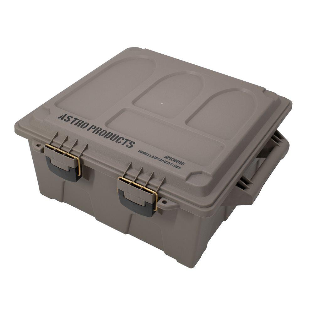 広くて丈夫 弾薬ケース型の収納ボックス AP プラスチックボックス XL ダークアース お歳暮 BX895 箱 ボックス ミリタリー 収納 弾薬箱 アストロプロダクツ オンラインショッピング 弾薬ケース ミリタリ-ボックス 大きめ アウトドア インテリア おしゃれ