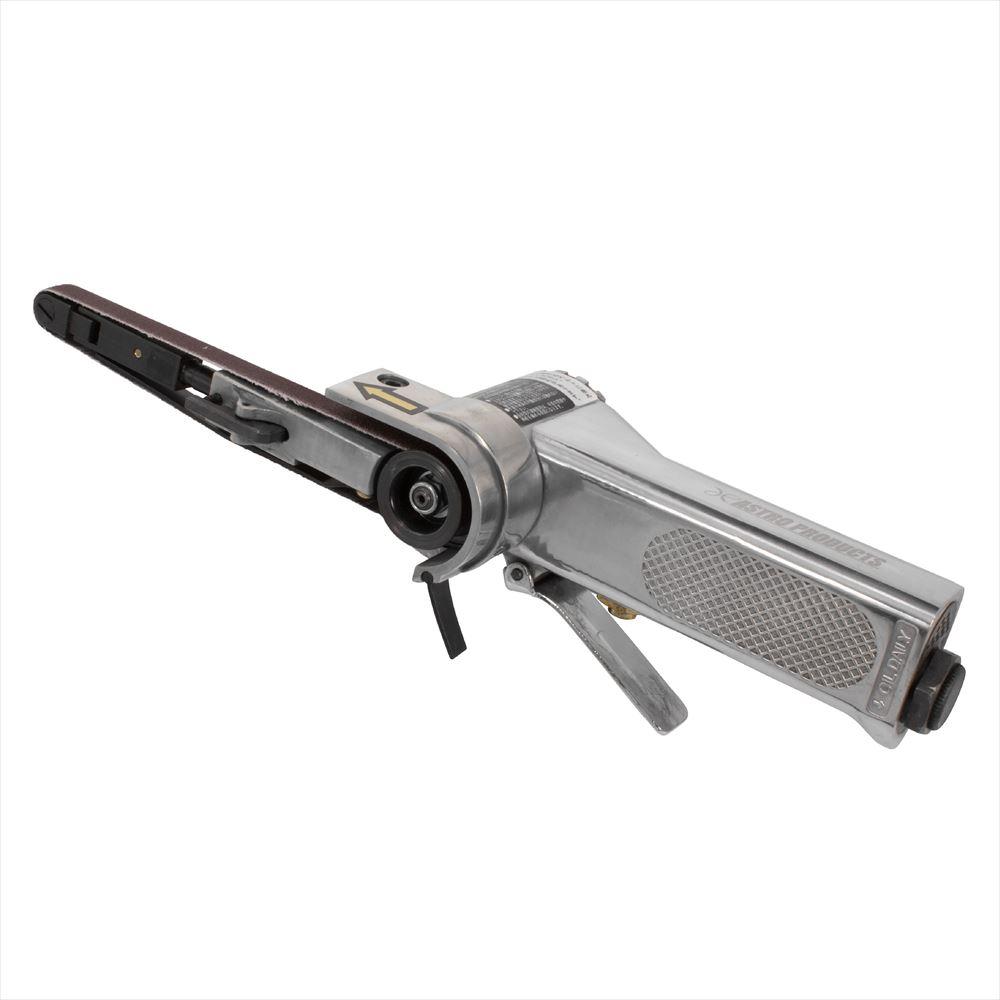 AP エアベルトサンダー 10mm BS897 | エアーベルトサンダー ベルトサンディング 研磨 回転式ヤスリ やすり エアーツール