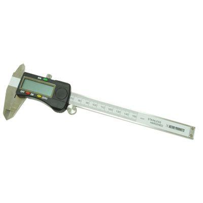 簡単見やすい デジタルノギス AP 150mm DVC937 評判 電子式ノギス 全国一律送料無料 のぎす 測り アストロプロダクツ 測定 測る 計測