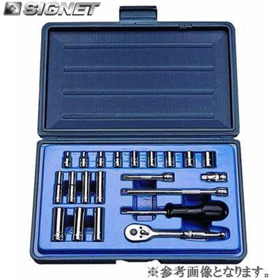 SIGNET 11621 1/4DR 21PC インチ ソケットレンチセット【シグネット】