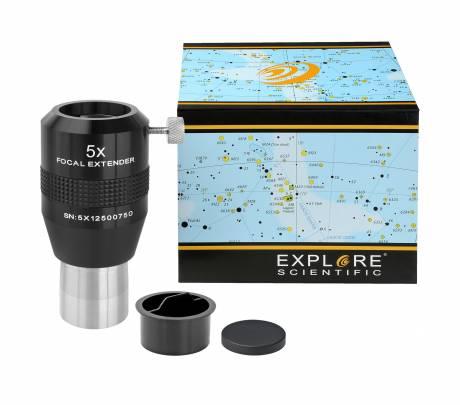 Explore Scientific 5X バローレンズ フォーカルエクステンダー 31.7mm径