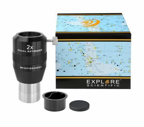 Explore Scientific 2X バローレンズ フォーカルエクステンダー 31.7mm径