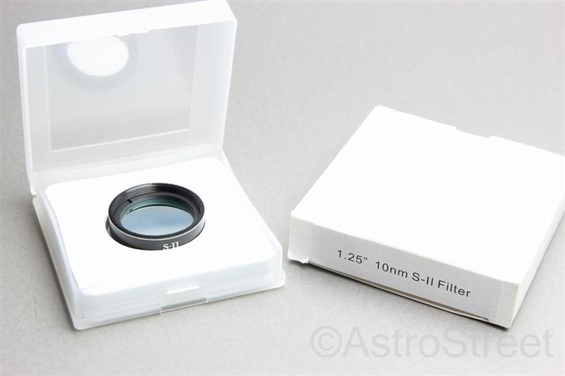 AstroStreet SII フィルター 10nm 1.25インチ 31.7mm 星雲観察等に