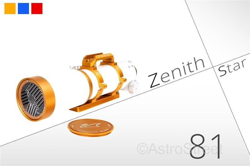 WilliamOptics Z81 F6.9 ZenithStar Imaging APO屈折鏡筒 FPL53