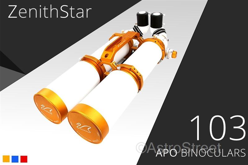 (受注生産)ペガサス双眼望遠鏡 103mm APO双眼屈折鏡筒 FPL53