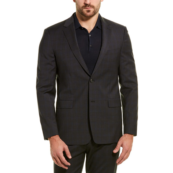multicolor Coat アウター コート メンズ charcoal Theory セオリー Sport Wool-Blend Wellar