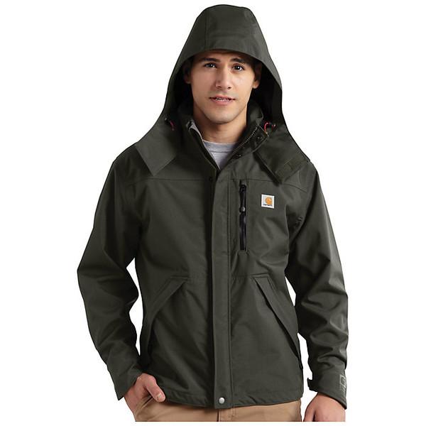 カーハート メンズ ジャケット&ブルゾン アウター Carhartt Men's Shoreline Jacket Olive