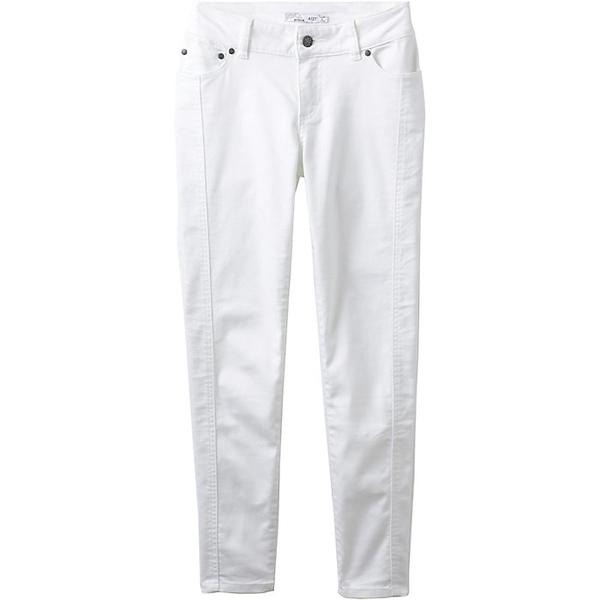 プラーナ レディース カジュアルパンツ ボトムス Prana Women's Carlotta Crop Pant White