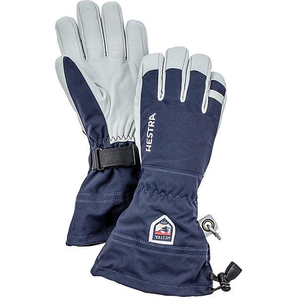 ヘストラ レディース 手袋 アクセサリー Hestra Army Leather Heli Ski Glove Navy