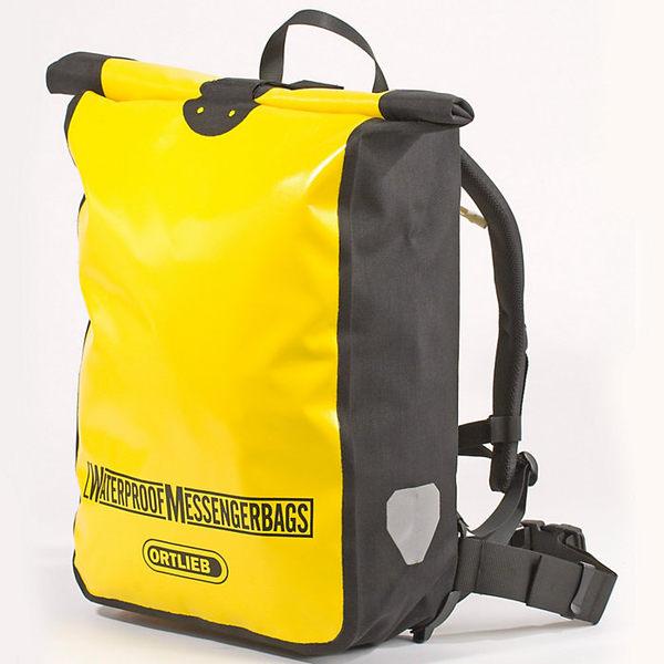 オルトリーブ レディース ボストンバッグ バッグ Ortlieb Messenger Bag Yellow / Black