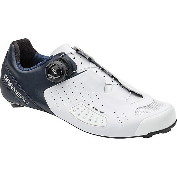 イルスガーナー レディース サイクリング スポーツ Louis Garneau Women's Carbon LS-100 III Shoe White / Navy