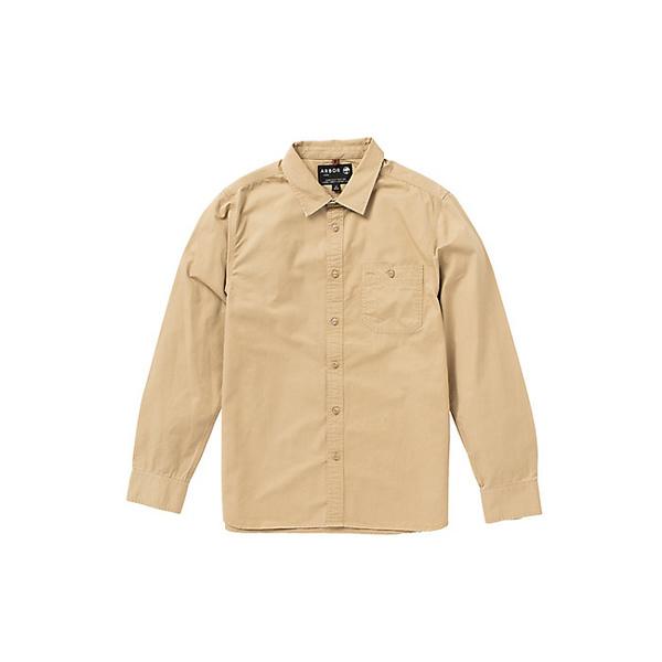 アーボー メンズ シャツ トップス Arbor Men's Scout Shirt Amber Yellow