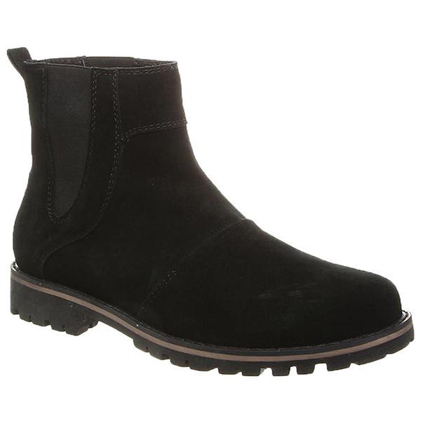 ベアパウ メンズ ブーツ&レインブーツ シューズ Bearpaw Men's Alastair Chelsea Boot Black II
