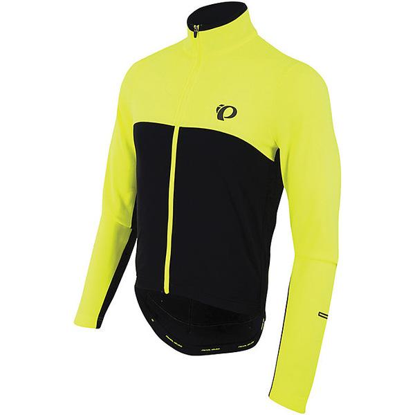パールイズミ メンズ サイクリング スポーツ Pearl Izumi Men's SELECT Thermal Jersey Screaming Yellow / Black