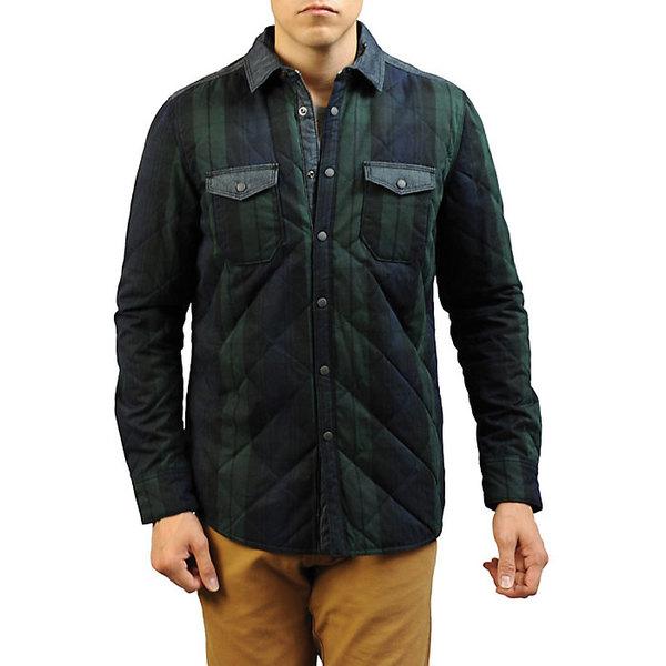 ジェレミア メンズ ジャケット&ブルゾン アウター Jeremiah Men's Wooster Quilted Plaid Shirt Jacket Forester